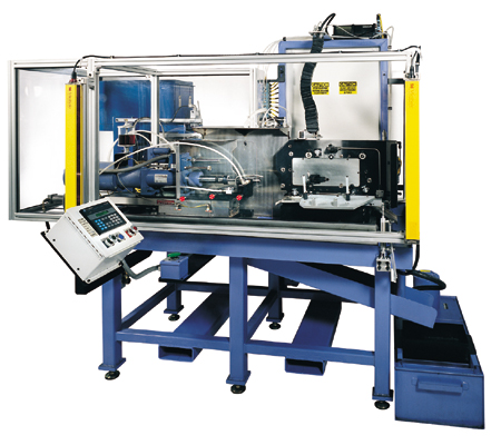 TUBE BORING AND ASSEMBLY MACHINE