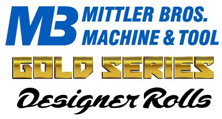 Mittler Bros New Gold Series Designer Rolls - Barbed Wire Roll Set