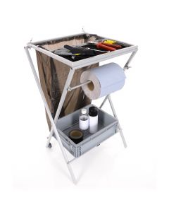 B-G Racing Mini Folding Utility Work Station - Powder Coated