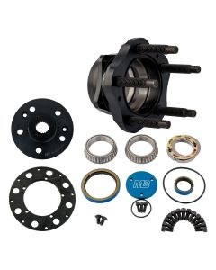 Rear Hub Kit, 5 x 5-1/2, 40 Spline - Left Hand