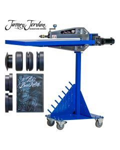 "Mittler Bros. 24"" Jamey Jordan Bead Roller Kit - Variable Speed Industrial Motor"