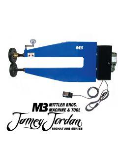 "36"" Adjustable Shaft Variable Speed Standard High Throat Bead Roller"