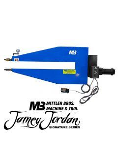 "36"" Adjustable Shaft Variable Speed High Throat Industrial Bead Roller"