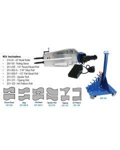 "Mittler Bros. 24"" Bead Roller Kit - Industrial Variable Speed"