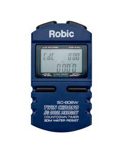 Robic Stopwatch: SC-606W Dual-Memory Stopwatch w/ Countdown Timer