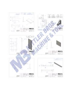 Upper & Lower Arm Weldment & Pedestal Drawing