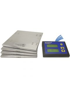 """All Of The Proven Features Of Our Wired Scales Now Packed Into A 1"""" Tall Package"""