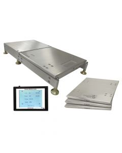 "1"" Tall Wireless Scales With Roll Back Trays"