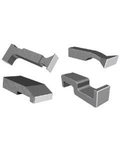 Steel Bucking Bar Set (4 Pieces)