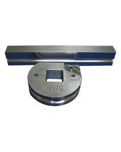 35mm - 127mm Round Shoe Set