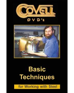 Basic Techniques for Working Steel - DVD - Ron Covell