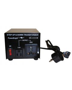 2000 Watt (16 Amps) Voltage Converter