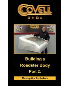 Building a Roadster Body Part 2: Making the Turtledeck DVD