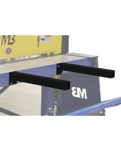 Retractable Work Support Arms for Foot Shear