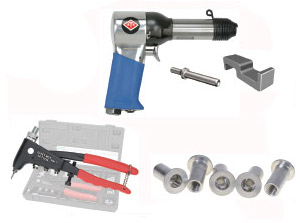 aircraft rivet tools