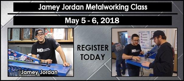 Jamey Jordan Metalworking Class